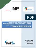DNP 2008 Evaluación Cualitativa Programa Batuta