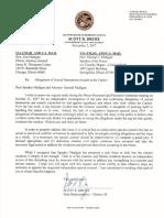 Scott Drury sends letter to Speaker Mike Madigan and A.G. Lisa Madigan