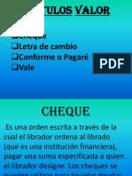 Nociones de Cheque (1)