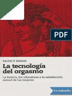 La Tecnologia Del Orgasmo - Rachel P Maines