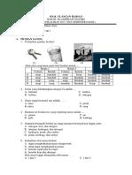 UH BAB III Klasifikasi Materi