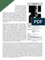 Juan Rulfo Biografia 1 Pagina