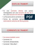 Corriente de Trabert, Diadinámicas, Microcorrientes, Vms
