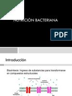 T9- NUTRICIÓN BACTERIANA