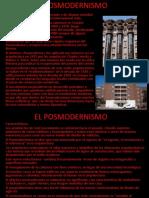 001 El Posmodernismo (2) Teoria