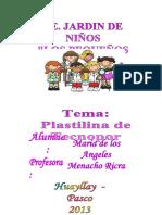 Plastilina de Tecnopor Reciclado