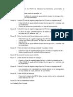 Resultados de Revision de ACUS de Instalaciones Sanitarias