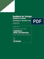 (Handbook of Zoology, Arthropoda_ Insecta, Part 35) Niels Peder Kristensen-Lepidoptera, Moths and Butterflies. 1_ Evolution, Systematics, and Biogeography-Walter de Gruyter (1998).pdf