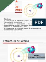 estructura basica del atomo y sus interacciones.ppt