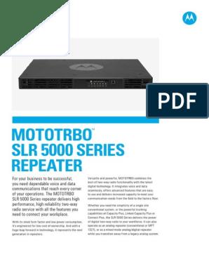 Repeater Mototrbo SLR5000 Series, Motorola SLR5300 | Hertz