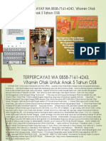 TERPERCAYA!! WA 0858-7161-4243, Vitamin Otak Untuk Anak 5 Tahun OSB