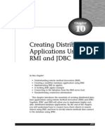 Creating Distributed Applications Using RMI and JDBC