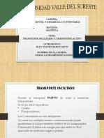 Transporte Fcilitado y Activo