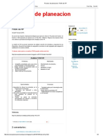 Proceso de Planeacion_ FODA de HP