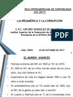 Arturo Gonzales de Aragon. Latinoamerica y La Corrupción[1]