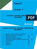 03 F2 Estatica y Segunda Condicion de Equilibrio
