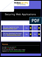 Securing Web Applications D