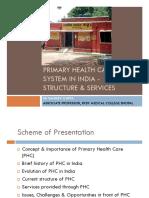 Primary Health Care in India