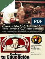 Educación como derecho vs Educación de mercado