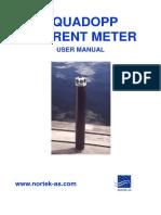 Aquadopp Manual