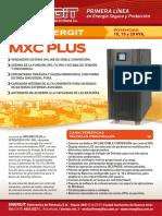 Ups Mxc Plus (10 a 20kva)