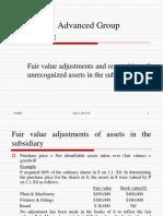 ACC 3501-Fair Value Adj