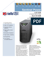 Riello Sentinel Power Spt Spw