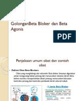 1.Golongan Beta Bloker Dan Beta Agonis