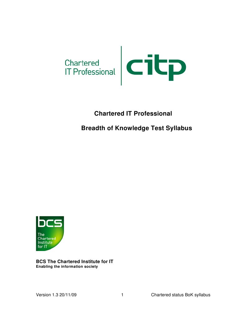 chartered it engineer