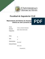 Proyecto de Investigación Sistema Alcantarillado José Leonardo Ortiz