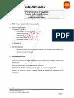Proceso de Elaboración de La Mantequilla - Tecnologia de Alimentos