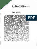 01 Genealogia Paulistana Tomo I - Luiz Gonzaga da Silva Leme (1904)