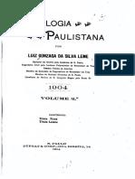 02 Genealogia Paulistana tomo II - Luiz Gonzaga da Silva Leme (1904)