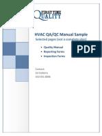 1032 HVAC QualityManuaSamplel
