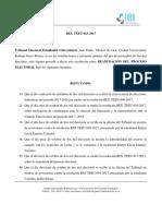 RES TEEU-023-2017 Reanudación Del Proceso Electoral
