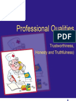Professional Qualities