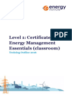 Level 1 Course Outline 2016