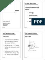 Unit 2_1-Driver and Vehicle Characteristics