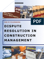 Dispute Resolution in Construction Management eBook-Lib