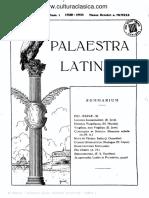 Palaestra Latina 01