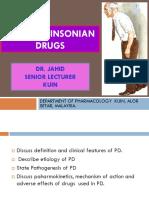 Antiparkinsonian Drugs