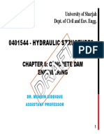 Chapter 6 Concrete Dam Engineering