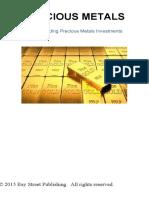PRECIOUS METALS Understanding Precious Metals Investments Eng