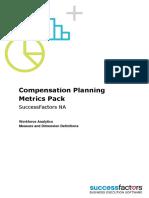Compensation Planning Metrics Pack NA