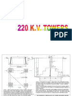 Foundation Details for 220 Kv- A Type