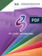 SpunTEX Profile PT Care Spunbond