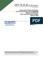 3GPP TS 05_05