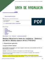 Decreto 23_2012, De 14 de Febrero, Por El Que Se Regula La Conservación y El Uso Sostenible de La Flora y La Fauna Silvestres y Sus Hábitats