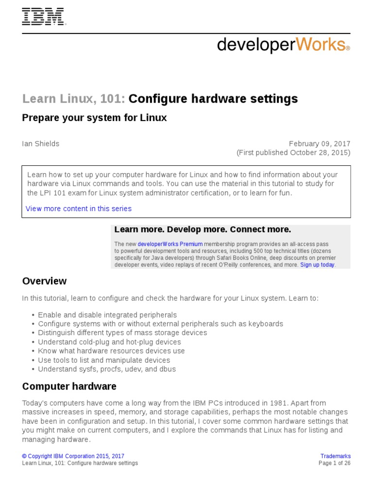 Configure Hardware Settings | Solid State Drive | Bios