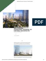 Multi-Modal Passenger Terminal by FXFOWLE Architects